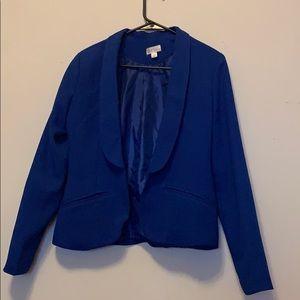 Royal blue blazer decree